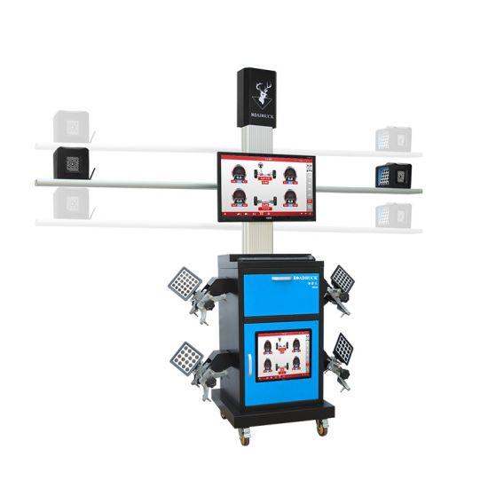 Customized 3 Camera 3D Tire Wheel Aligner Machine