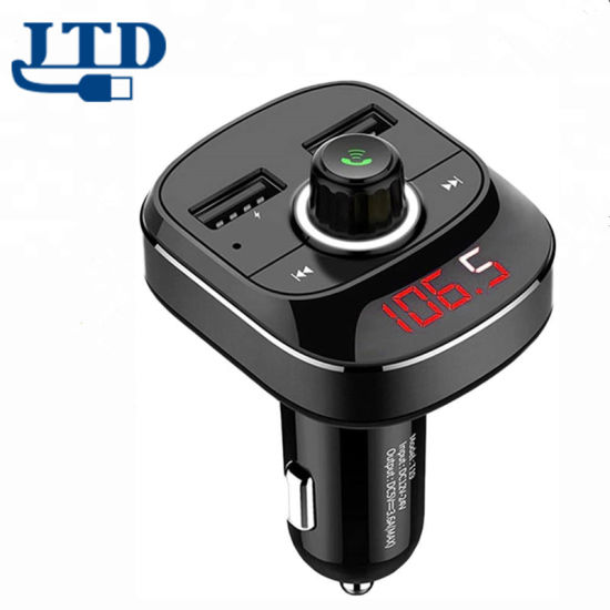 Bluetooth FM Transmitter with Car Charger