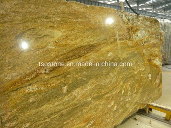 Juparana Golden River Granite Slab