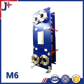 M6 SS304/SS316L/Titanium/Smo254/C276 Gasket Plate Heat Exchanger for Good Quality