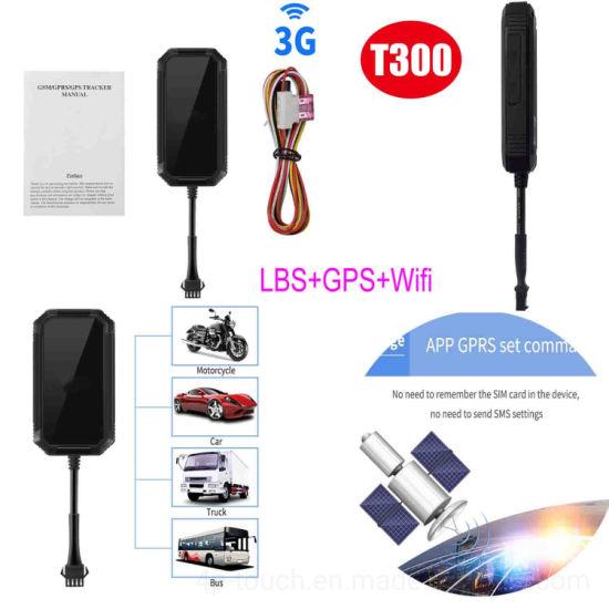 3G Vehicle Fleet Management GPS Tracking Device T300