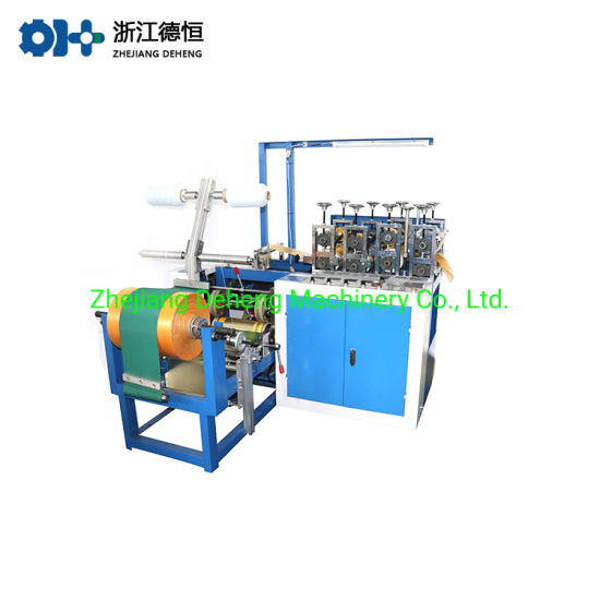 Automatic PE CPE Plastic Film Shoe Disposable Cover Making Machine for Hotel, Workshop