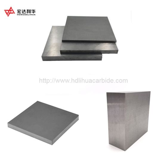Yg8 Yg6 Carbide Plates, Sheet in Various Size for Cutting Tools