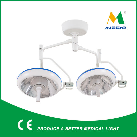 Micare E700/700 Double Headl Ceiling LED O. T. Light Operation Theater Lamp Good Price pictures & photos