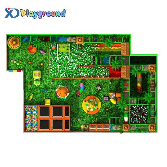 Jungle Theme Adventure Children Used Indoor Playground Equipment for Sale