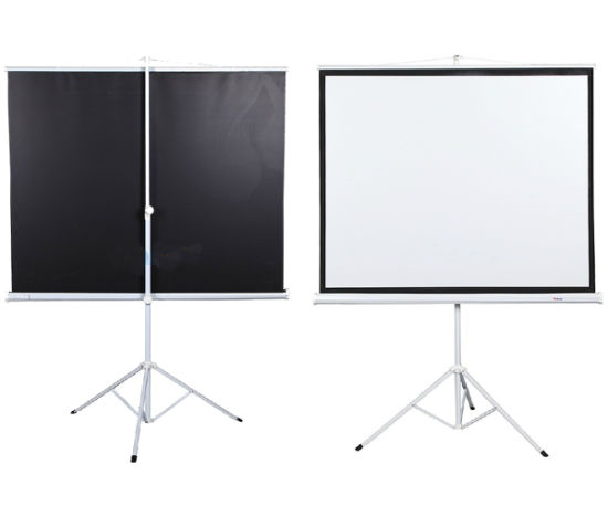 Tripod Projection Screen/Projector Screen with Competitive Prices (TS070) pictures & photos
