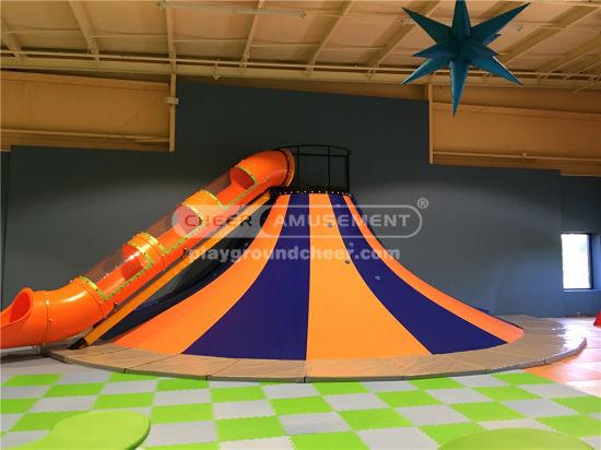 Cheer Amusement Space Themed Volcano Slide
