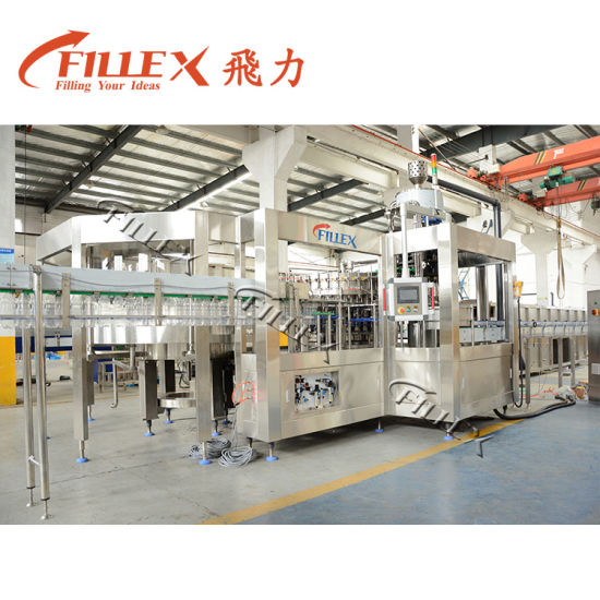 Full Automatic 12000 Pure Mineral Water Beverage Carbonated Drink Plastic Bottling Filling Packing Machine