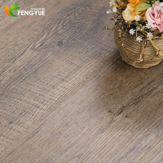 Formaldehyde Free Waterproof Spc Vinyl Floor / WPC Floor / PVC Floor / Lvt Floor