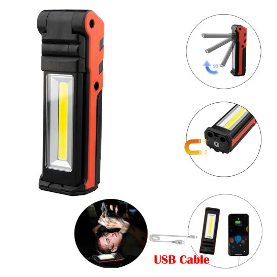 Foldable Rechargeable COB LED Working Lamp 35-3s1869