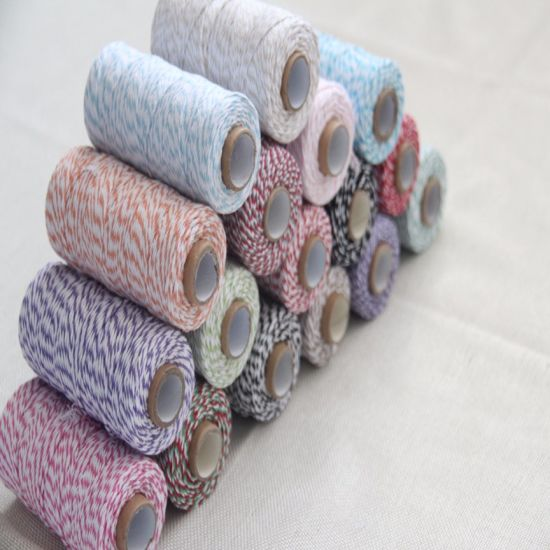 Twist Colorful Cotton Rope for DIY