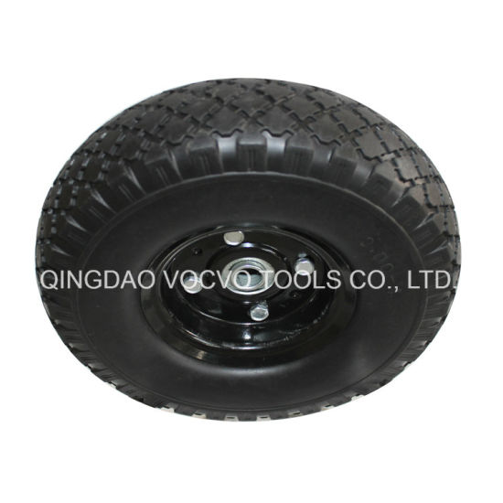 10 Inch 3 00 4 Hand Trolley Pu Foam Rubber Wheel Manufacturer