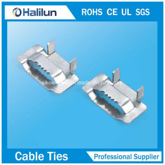 High Quality Medium Duty Galvanized Carbon Steel Ear-Lokt Buckle