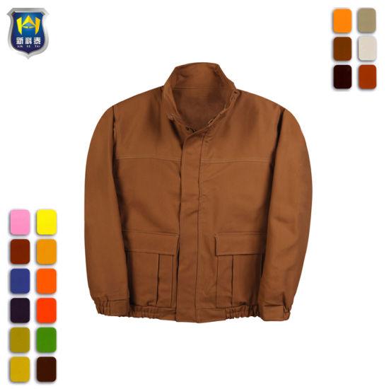 Women Winter Unisex Factory Workwear Uniform Jackets
