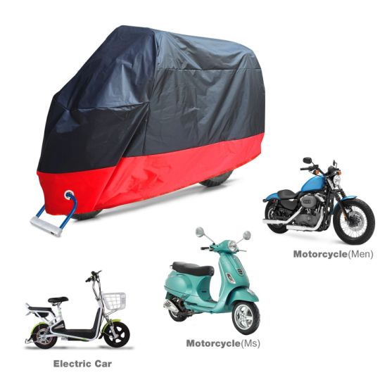 "Motorcycle Accessory Fits up to 108"" Motors, Waterproof, Anti-Theft, Durable & Tear Proof All Season Waterproof Motorcycle Cover"