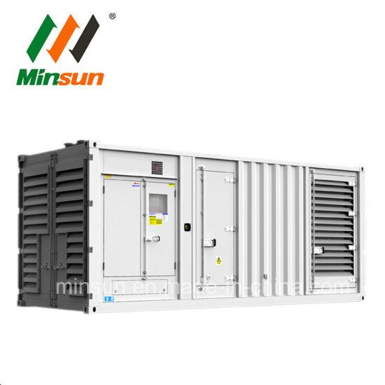 Cummins Kta50-G3 Heavy-Duty 1MW Container Industrial Diesel Power Generator Set