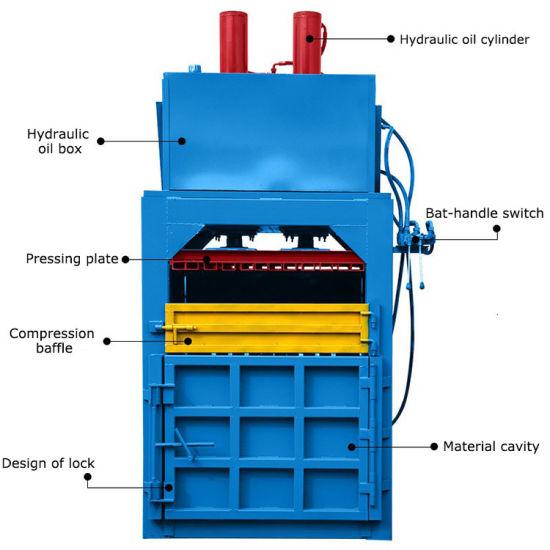 Manual Press for Waste Scrap Paper Pressing Baler