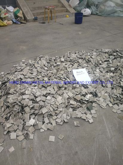 Factory Price Nickel Sheet Metal Scrap for Sale