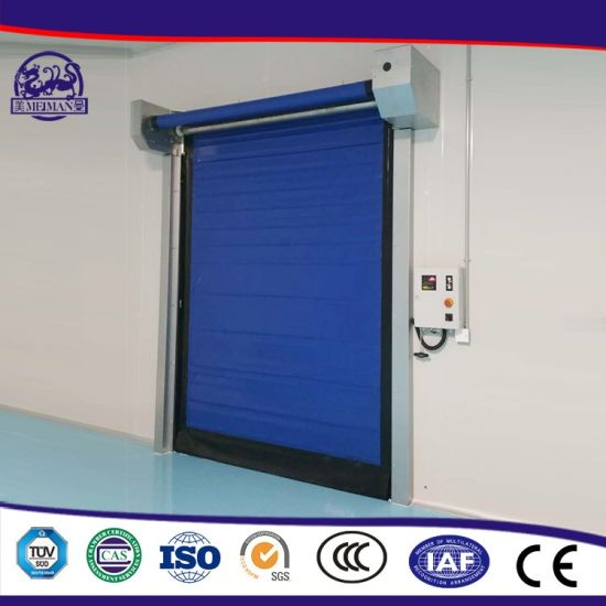 Industrial PVC High Speed Rapid Fast Warehouse Roller up Zipper Door  sc 1 st  Shanghai Meiman Door Co. Ltd. & China Industrial PVC High Speed Rapid Fast Warehouse Roller up ...