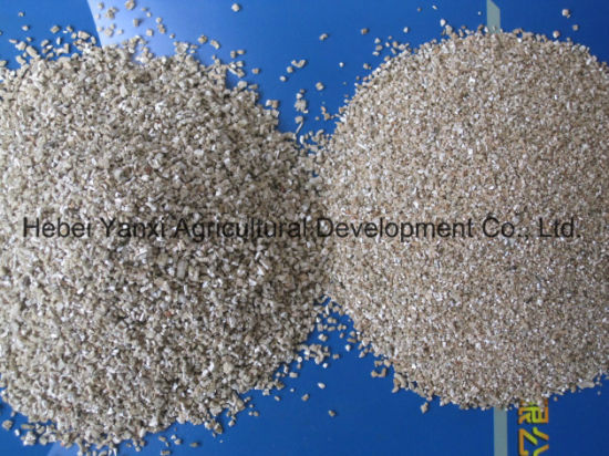 Export High Quality Fertilizer Horticulture Fertilizer Golden Silvery Expanded Vermiculite pictures & photos