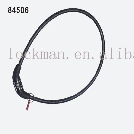 Iron Bicycle Cable Lock Bl-84506 pictures & photos