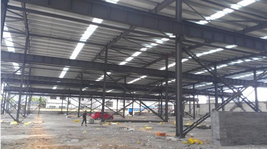Cheap Prefab Steel Structure Houses Supplier (SD-534)