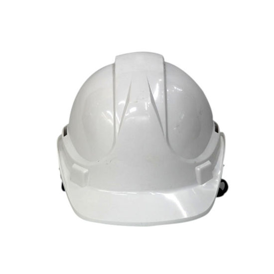 PE T Type Safety Helmet white