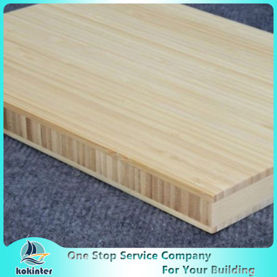 Carbonized Multi-Ply Bamboo Panel/Bamboo Board/Bamboo Plank/ Bamboo Plywood for Furniture 40mm in Cheap Price and High Quality