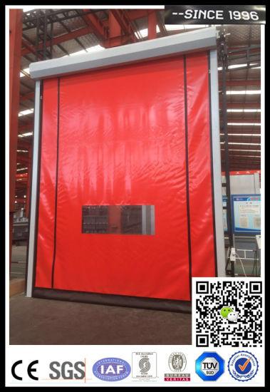 Self-Repair Door Good Sealing Flexible Rapid Door