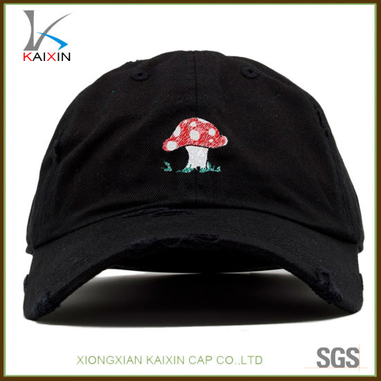 2486a62203c China 6 Panel Unstructured Baseball Cap Distressed Dad Hats - China ...