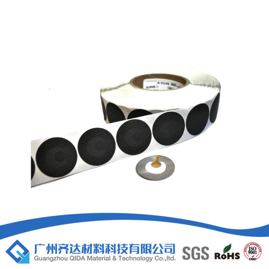 China Store Security 8 2MHz RF Soft Label for Retail