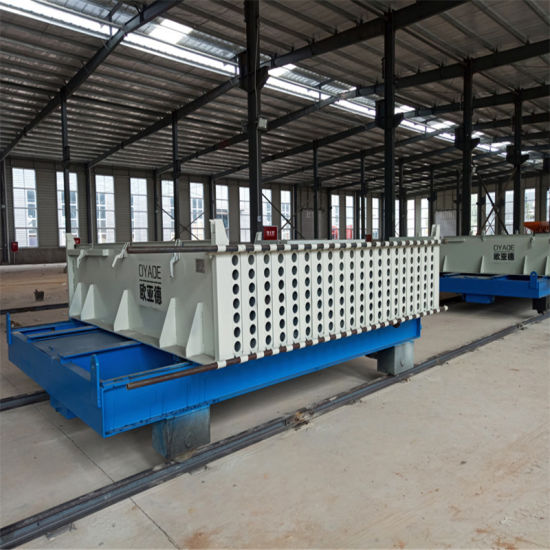 Easy Operating Precast Concrete Hollow Core Wall Panel Machine