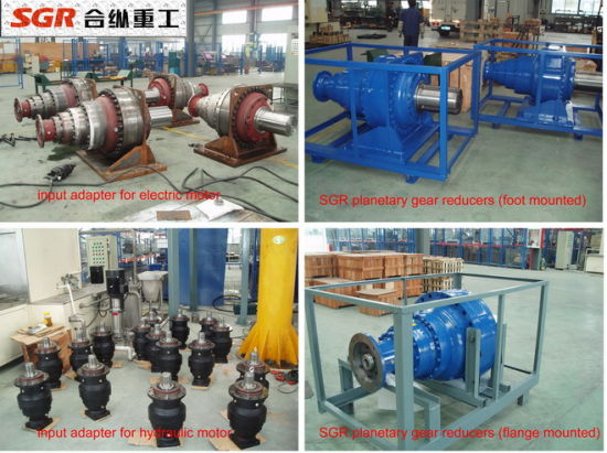 Hollow Shaft Planetary Gearbox with Input Adapter pictures & photos