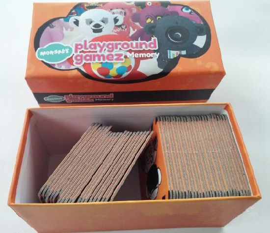 Cartoon Printed Paper Game Cards pictures & photos