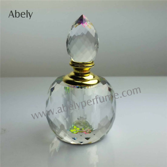 China Customized Factory Price Crystal Perfume Bottle for