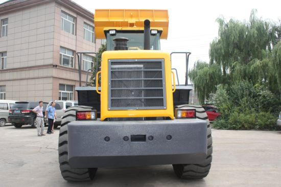 New Design Construction Equipment Front Wheel Loader with Forklift pictures & photos
