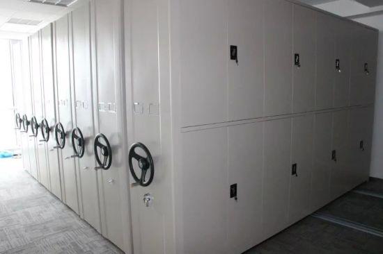 New Design Space Saving Mobile Mass Shelves For Document / Books Storage