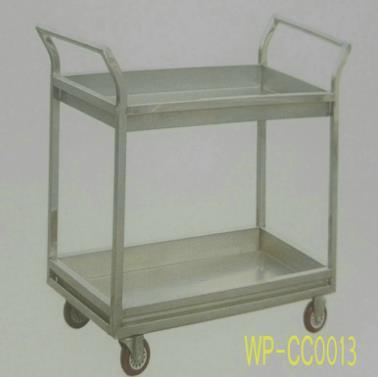 Stainless Steel Food Serving Trollery/ Cart, at Hotel, Restaurant pictures & photos
