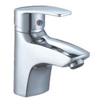 Sanitary Ware Chrome Plated Bathroom Faucet (1280)