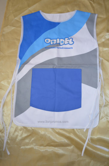 Custom Printing Cotton/Polyester Promotion Waiter Apron pictures & photos