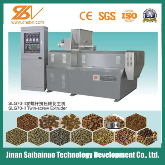 Stainless Steel Dog Food Machine Processing Line pictures & photos