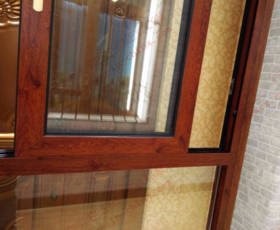Classical Woodgrain Aluminium Bay Window (BHA-CW21) pictures & photos