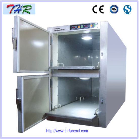 Medical Stainless Steel Mortuary Refrigerator (THR-FR002) pictures & photos
