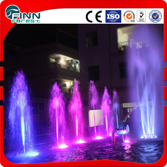 Large Outdoor Waterfall Garden Decorative Colorful Music Dancing Fountain pictures & photos