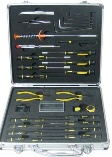 29PCS Aluminium Case Tool Set in EVA Packing