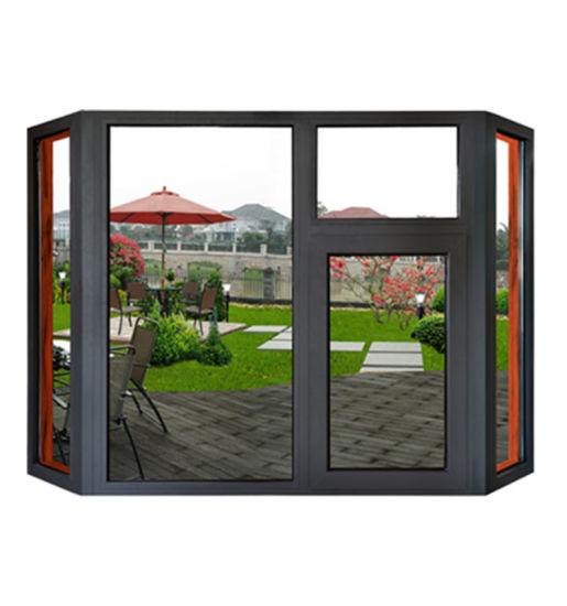 Large Glass House Windows Double Glazed Soundproof Windows Aluminium Casement Window
