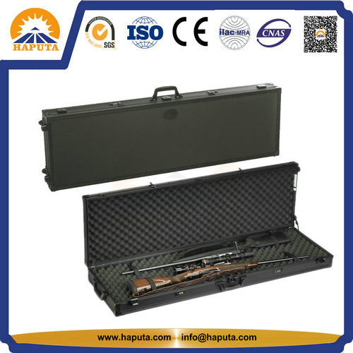 Tactical Gun Case Black Gun Carrying Box with Foam (HG-1508) pictures & photos