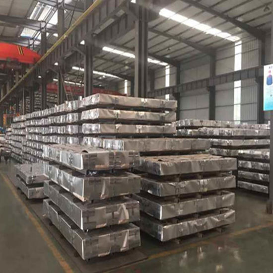 Dx51d Color Coated Galvanized Corrugated Steel Roofing Sheet (0.13--0.8mm) pictures & photos