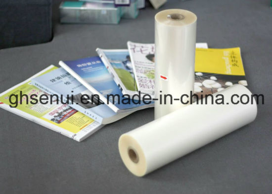 27mic Thermal Film for Superior Book Cover (1512G) pictures & photos