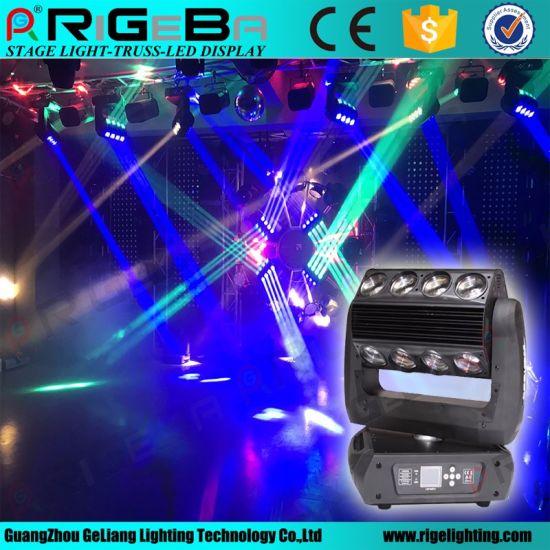 360 Roller 16*25W RGBA LED Moving Head Light for Nightclub DJ